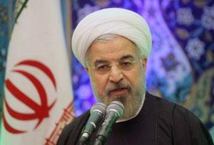 حسن روحانی :نفت را بردند و خوردند و ملت را دور زدند
